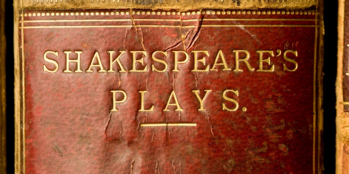 Dr. David Whalen discusses the authorship question: Did Shakespeare actually write his plays?