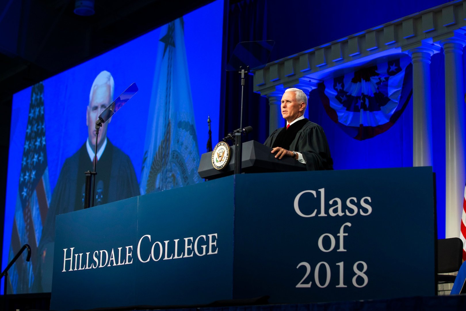 Mike Pence Delivers 2018 Commencement Address