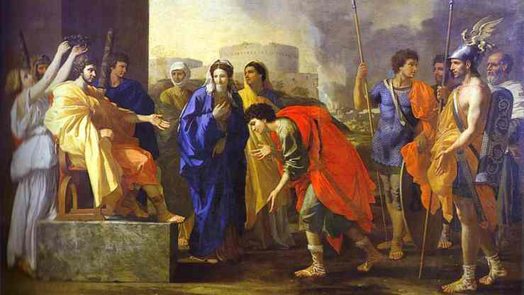 Nicholas Poussin's painting of the Continence of Scipio