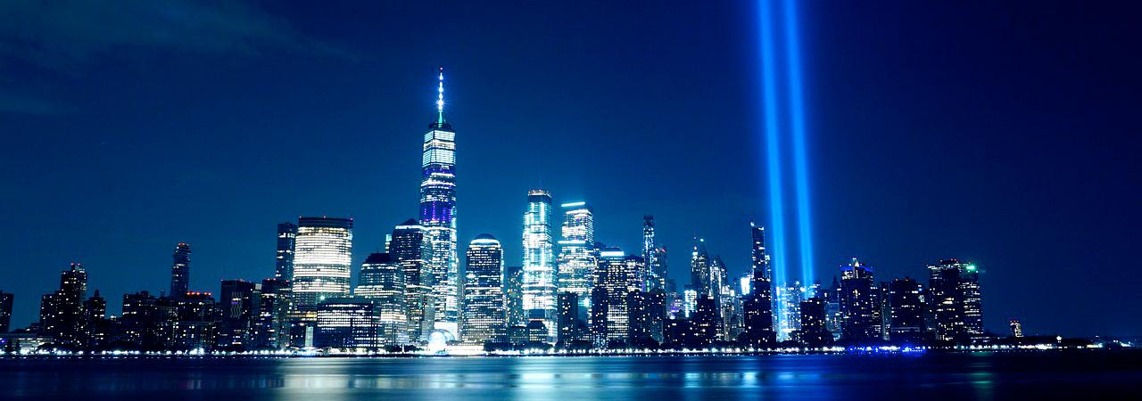 tribute in light 911 memorial new york city